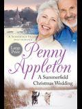 A Summerfield Christmas Wedding: A Summerfield Village Sweet Romance Large Print