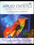 Applied Statistics for Engineers and Scientists: Using Microsoft Excel & Minitab [With CDROM]