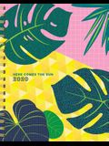 Here Comes the Sun 17-Month Large Planner with 1000+ Stickers 2019-2020