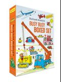 Richard Scarry's Busy Busy Boxed Set: Busy Busy Airport; Busy Busy Cars and Trucks; Busy Busy Construction Site; Busy Busy Farm