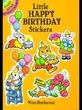 Little Happy Birthday Stickers (Dover Little Activity Books)