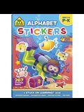 School Zone Alphabet Stickers Workbook