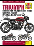 Triumph Bonneville T100, T120, Speedmaster, Bobber, Speed Twin, Thruxton, Street Twin, Cup & Scrambler 900 & 1200, '16-'19: Covers Models with Water-C