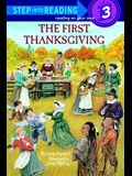 The First Thanksgiving (Turtleback School & Library Binding Edition) (Step Into Reading: A Step 2 Book)