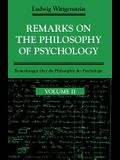 Remarks on the Philosophy of Psychology, Volume 2
