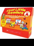 First Little Readers: Guided Reading Level a (Classroom Set): A Big Collection of Just-Right Leveled Books for Beginning Readers