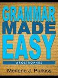 Grammar Made Easy: Apostrophes