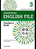 American English File 2e 3 Teacher Book: With Testing Program