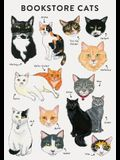 Bibliophile Flexi Journal: Bookstore Cats: (cat Gifts for Cat Lovers, Cat Journal, Cat-Themed Gifts)
