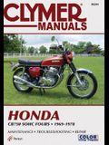 Clymer Honda Cb750 Sohc Fours, 1969-1978: Maintenance, Troubleshooting, Repair