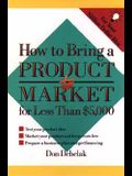 How to Bring a Product to Market for Less than $5,000