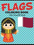 Flags Coloring Book: Color Around The World