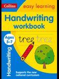 Handwriting Workbook: Ages 5-7