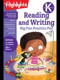 Kindergarten Reading and Writing Big Fun Practice Pad