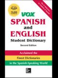 Vox Spanish and English Student Dictionary