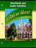 Asi Se Dice! Workbook and Audio Activities (Glencoe Spanish) (Spanish Edition)