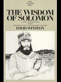 The Wisdom of Solomon: A New Translation with Introduction and Commentary