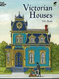 Victorian Houses Coloring Book