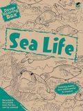 Dover Coloring Box -- Sea Life [With Poster and Crayons]