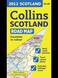 2012 Collins Scotland Road Map