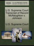 U.S. Supreme Court Transcript of Record McNaughton V. Johnson