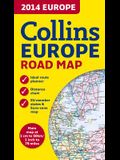 Collins Europe Road Map
