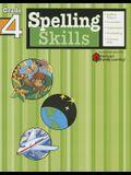 Spelling Skills: Grade 4 (Flash Kids Harcourt Family Learning)
