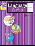 Language Arts: Grade 6 (Flash Kids Harcourt Family Learning)