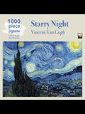 Van Gogh: Starry Night Jigsaw: 1000 Piece Jigsaw Puzzle