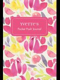 Yvette's Pocket Posh Journal, Tulip