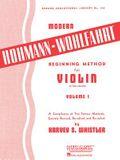 Modern Hohmann-Wohlfahrt Beginning Method for Violin: Volume 1
