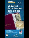 Spa-Spanish LP Bible Index Tab: Large Print Gold-Edged Bible Tabs
