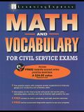 Math and Vocabulary for Civil Service Exams