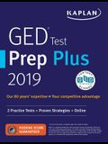 GED Test Prep Plus 2019: 2 Practice Tests + Proven Strategies + Online