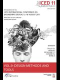 Proceedings of Iced11, Vol. 9: Design Methods and Tools Part 1