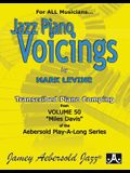 Jazz Piano Voicings: Transcribed Piano Comping from Volume 50 Miles Davis