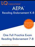 AEPA Reading Endorsement K-8: One Full Practice Exam - 2021 Exam Questions - Free Online Tutoring