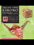 Origami Paper - Kimono Patterns - Large 8 1/4 - 48 Sheets: Tuttle Origami Paper: High-Quality Double-Sided Origami Sheets Printed with 8 Different De