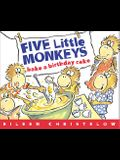 Bake a Birthday Cake (Turtleback School & Library Binding Edition) (Five Little Monkeys Picture Books)