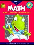 School Zone Math Basics Grade 2 Workbook