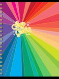 Stay Golden 17-Month Large Planner with 1000+ Stickers 2019-2020
