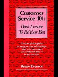 Customer Service 101: Basic Lessons to Be Your Best