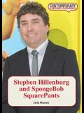 Stephen Hillenburg and Spongebob Squarepants
