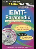 EMT-Paramedic Premium Edition Flashcard Book W/CD [With CDROM]