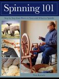 Spinning 101: Step by Step from Fleece to Yarn with Wheel or Spindle
