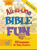 All-In-One Bible Fun for Preschool Children: Heroes of the Bible: 13 Lessons for Busy Teachers [With Reproducibles]