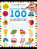 Wipe Clean: First 100 Words Bilingual