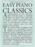 Library of Easy Piano Classics