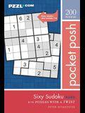 Pocket Posh Sixy Sudoku Hard: 200 6x6 Puzzles with a Twist