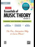 Alfred's Essentials of Music Theory Software, Version 3.0, Vol 1: Student Version, Software